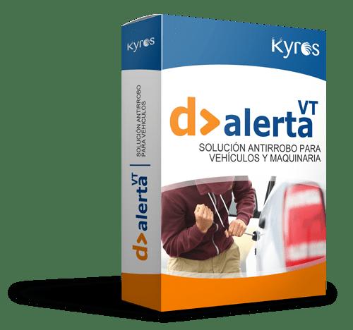 Kyros D>ALERTA VT | Solución antirrobo para vehículos y maquinaria