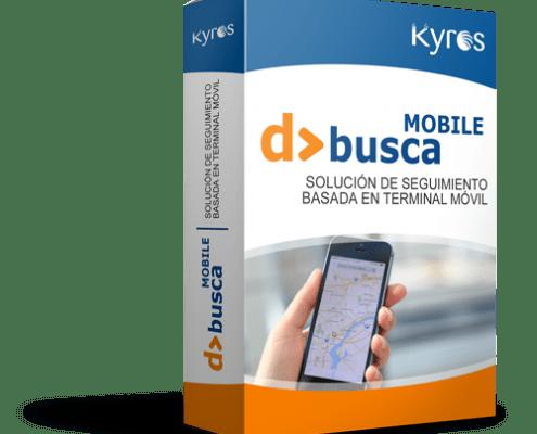 Kyros D>BUSCA MOBILE   Solución de seguimiento basada en terminal móvil