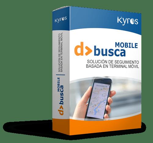 Kyros D>BUSCA MOBILE | Solución de seguimiento basada en terminal móvil
