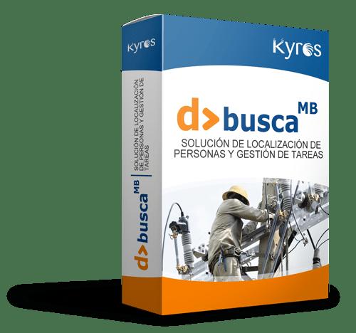 Kyros D>BUSCA MB | Solución específica para seguridad de personas