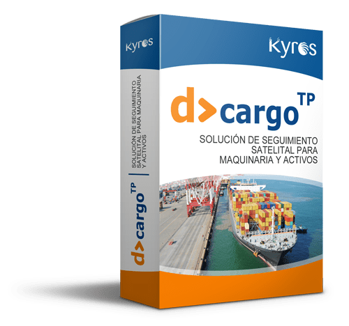 Kyros D>CARGO TP | Solución de seguimiento satelital para maquinaria y activos