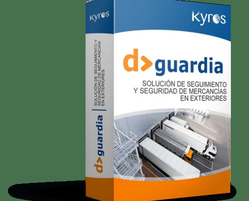 Kyros D>Guardia | Solución de seguimiento y seguridad de mercancias en exteriores