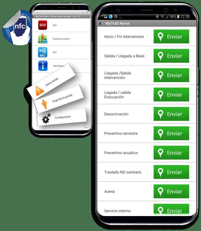 App Localización y Gestión de tareas Kyros MyTrack.