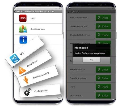 Kyros MyTrack | App Localización y Gestión de tareas