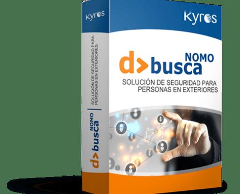 Kyros D>BUSCA NOMO   Solución de seguridad para personas en exteriores