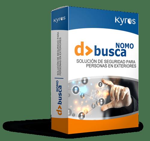 Kyros D>BUSCA NOMO | Solución de seguridad para personas en exteriores
