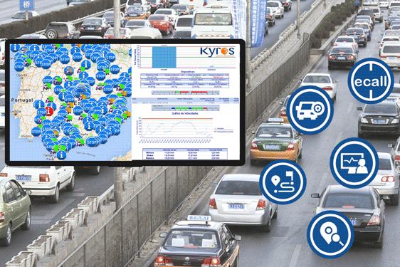 Seguimiento de Técnicos y Personal Vehículos par eficiencia de los Servicios Inteligentes de las Smart Cities