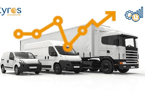Kyros LBS telemática móvil para reducir gastos flota