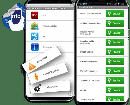 #AppKyrosMytrack de Localización Prevención de Riesgos de los empleados